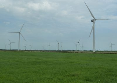 Ketelsens Ferienwohnung Windkraftanlage