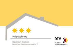 3 Sterne Bewertung DTV